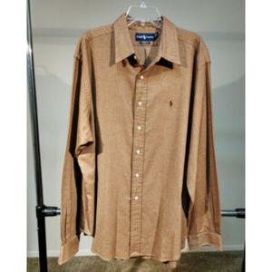 Polo Ralph Lauren sz XXL 2XL button down shirt